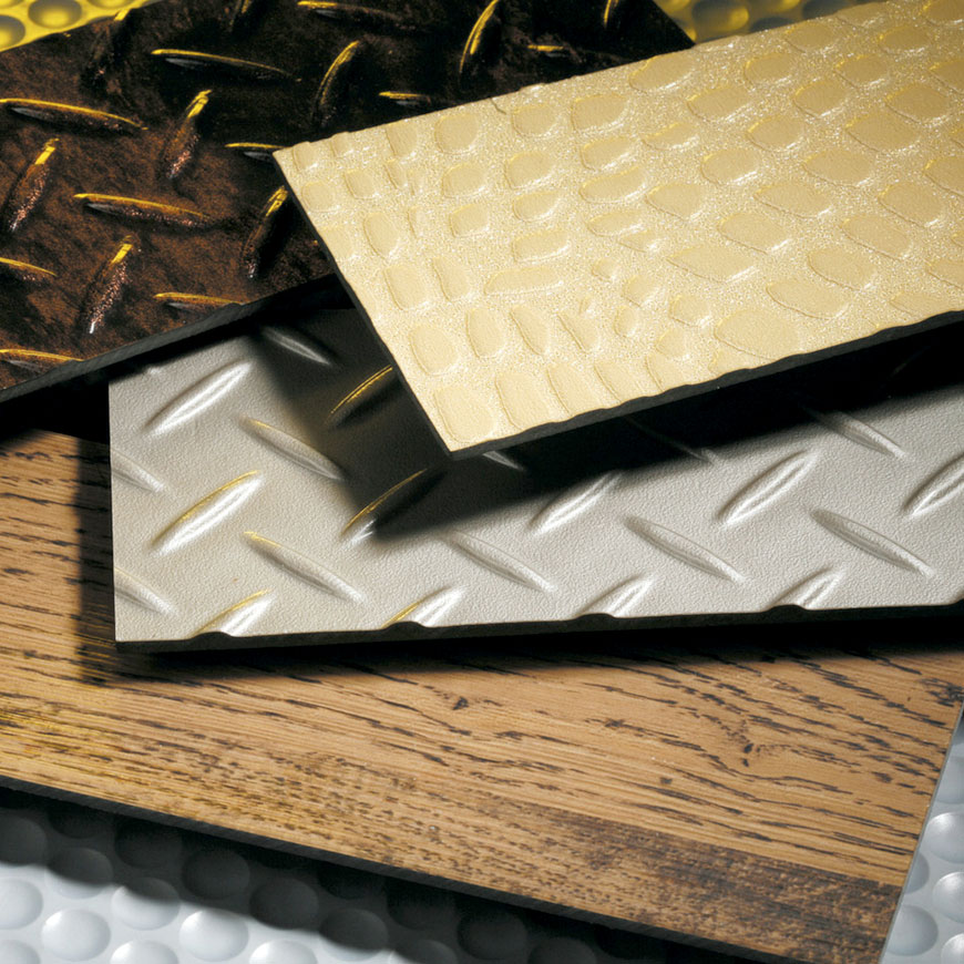 Various Printed Embossing Vinyl Floor - PVC Applications